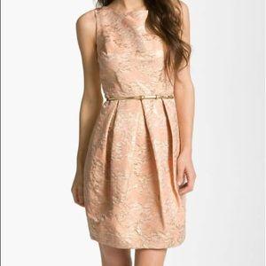 ELIZA J jacquard tulip dress
